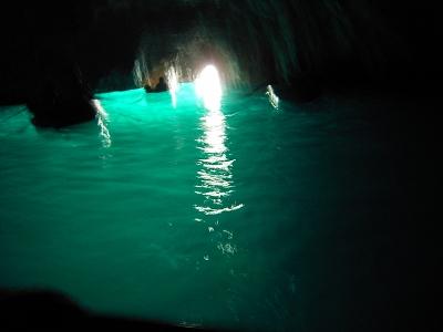 青の洞窟 内部